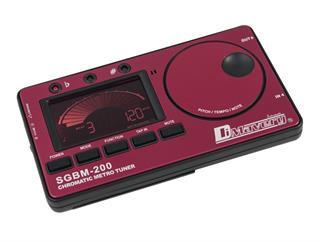 DIMAVERY SGBM-200 Stimmgerät Metronom rot