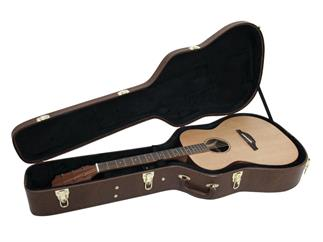 DIMAVERY Form-Case Western-Gitarre Brown