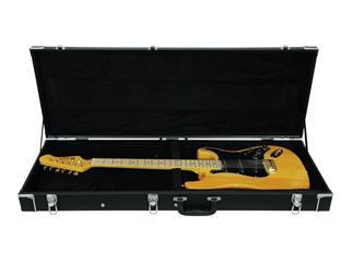 DIMAVERY Holz-Case für E-Gitarre, rechteck