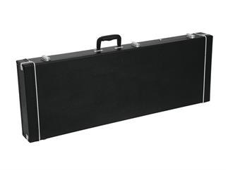 DIMAVERY Holz-Case für E-Bass, rechteck