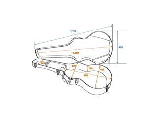 DIMAVERY ABS-Case für Jumbo Akustik