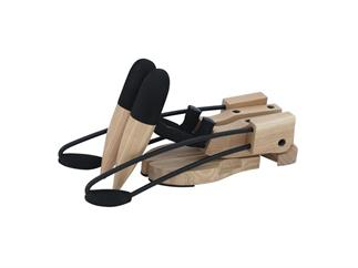 DIMAVERY Design Holz E-Gitarrenständer