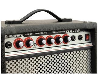 DIMAVERY GA-15 E-Gitarren-Amp 15 W