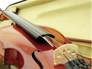 DIMAVERY Violine 4/4 mit Bogen, im Case