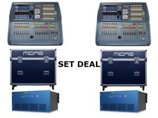 Midas Pro2C-TP FOH&Monitor Bundle - 2x Pro2C-TP + 2x DL231 Tour Bundle