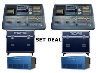 Midas Pro2-TP FOH&Monitor Bundle - 2x Pro2-TP + 2x DL231 Tour Bundle