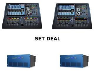 Midas Pro1-IP FOH& Monitor Bundle- 2x Pro1-IP + 2x DL231 Install Bundle