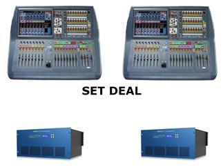 Midas Pro2C-IP FOH&Monitor Bundle - 2x Pro2C-IP + 2x DL231 Install Bundle