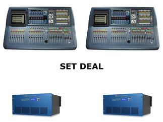 Midas Pro2-IP FOH&Monitor Bundle - 2x Pro2-IP + 2x DL231 Install Bundle