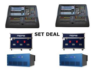 Midas Pro1-TP FOH&Monitor Bundle - 2x Pro1-TP + 2x DL231 Tour Bundle