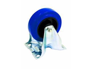 Bockrolle blau Rad-Grösse:100mm