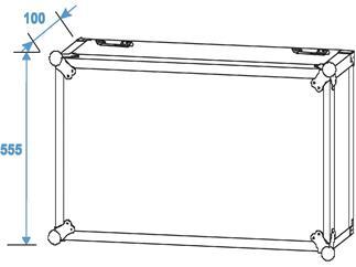 ROADINGER Rack Profi 12HE 45cm