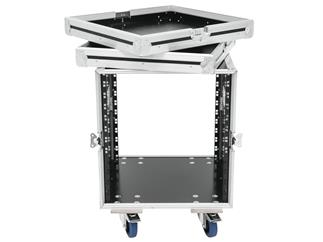 ROADINGER Rack Profi KM 12HE 55cm mit Rollen