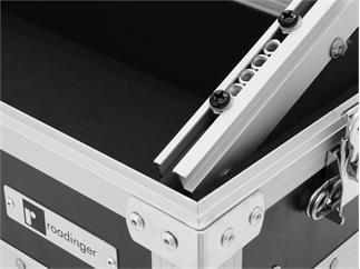 Roadinger Mixer-Case Profi MCA-19-N, 3HE, schwarz