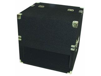Mixer+CD-Player-Case,3/4 HE,Textilb.,schwarz