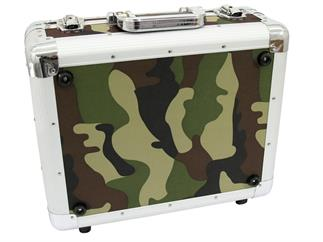 Roadinger CD-Case ALU Digital-Booking abgerundet Camouflage