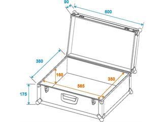 ROADINGER Universal-Koffercase Tour Pro alu