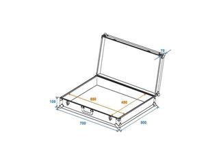 Universal-Koffer-Case FOAM Gr-2 alu