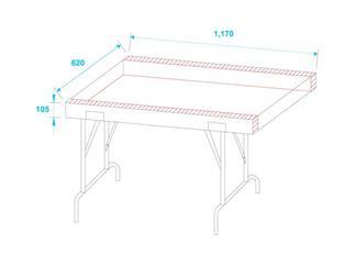Omnitronic Universal-Schubladen-Case FD-1, rollbar