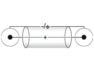 Kabel CC-03 2x2 Cinch rot/sw 0,3m HighEnd