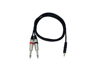 Kabel AC-35 3,5Klinke/2xKlinke6,35 1,5m