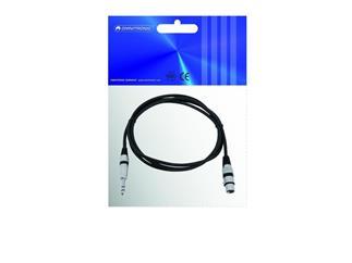 Kabel AC-50 XLR-Kuppl./Klinke-St.st. 2m