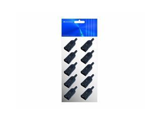 Kaltgerätestecker /10 Stück  (Zehnerpack)