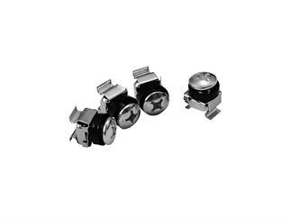 Eurolite Steckdosenleiste R19-8 1HE schwarz