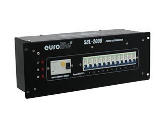 "EUROLITE SBL-2000 19"" Verteiler 32A Stromverteiler"