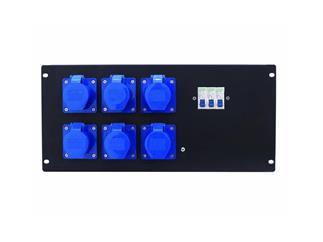 EUROLITE PDM 5U-6CEE 16A/3-polig