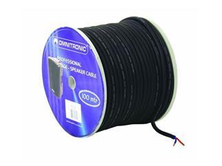 LS-Kabel trittfest 2x4mm² schwarz/100m