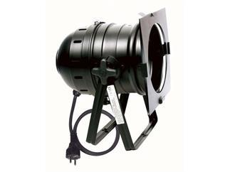 PAR-56 Floorspot,schwarz, mit Stecker u. Silikonkabel