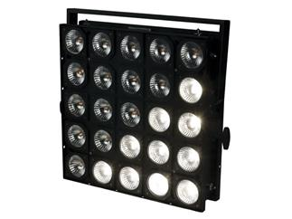 Showtec Matrix Blinder 5x5 - DMX - 25x 75Watt Par 30 Flood