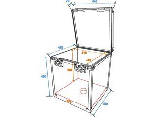 Transportcase für Spiegelkugel 40cm