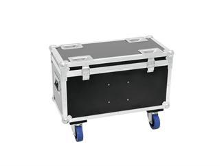 Roadinger Transportcase für 2x Eurolite TMH-30/40/60 mit Rollen