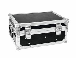 Roadinger Flightcase 4x AKKU Flat Light 1