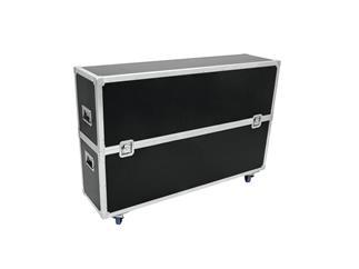 ROADINGER Flightcase 2x LCD ZL60, mit Rollen für 2 LCD-Monitore bis 60 Zoll