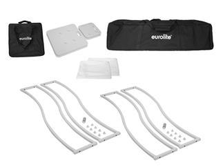 EUROLITE 2x Stage Stand 150cm geschwungen inkl. Cover und Tasche