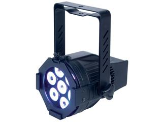 Opti TRI 30 black 10° RGB, 7x 3W TCL LED