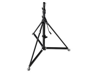 Manfrotto 387XBU Stativ Super Wind-Up Inox Schwarz