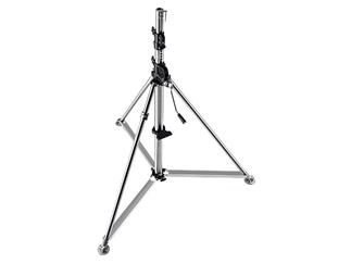 Manfrotto 387XU Stativ Super Wind-Up Inox Silber