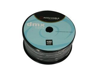 Accu Cable AC-DMX3/100R  DMX Kabel Rolle 100m 3pol
