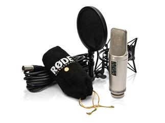 "Røde NT2-A, Kondensatormikrofon-Komplettset ""Studio Solution"""
