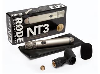 Røde NT3, Kondensatormikrofon, Batterie- und Phantomspeisung