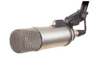 Røde Broadcaster, Kondensator-Sprechermikrofon