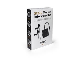 Røde SC6L-KIT, Mobile Interview Kit für iOS-Geräte mit Lightning-Anschluss (2x smartLav+, 1x SC6-L,
