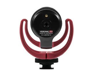 Røde VideoMic GO, Kamera-Richtmikrofon, Kameraspeisung