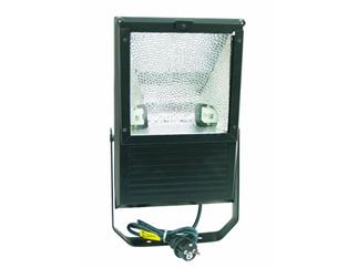 EUROLITE Outdoor Spot 150W WFL schwarz asymmetrisch