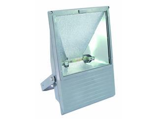EUROLITE Outdoor Spot 750-1000W WFL silber Asymmetrisch