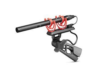 Røde NTG5-KIT, Broadcast-Richtrohrmikrofon-Set, inkl. Pistolengriff, Spezialkabel, Klemme, Windschütze und Etui
